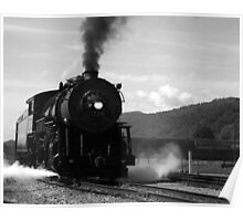 Train coming in Poster