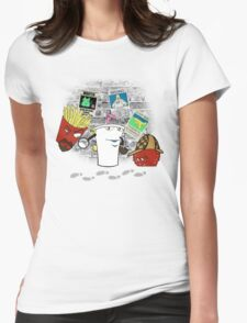 Old School Detectives Womens Fitted T-Shirt