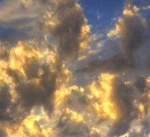 Clouds over Pueblo Espárragos Sticker