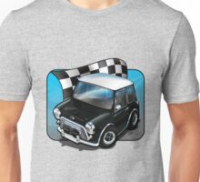 Austin Cooper S in Black Unisex T-Shirt