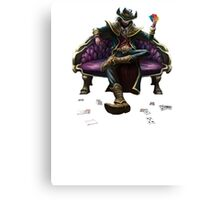 Twisted Fate Canvas Print