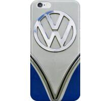 Blue VW Splitscreen Bus iPhone Case/Skin
