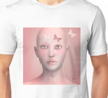 A pink cocoon Unisex T-Shirt