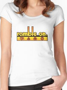 Ramble On Women's Fitted Scoop T-Shirt