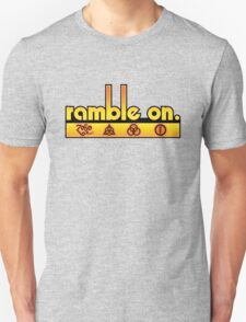 Ramble On Unisex T-Shirt