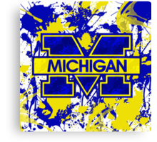 Go Michigan! Canvas Print