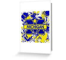 Go Michigan! Greeting Card