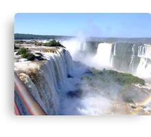 Iguassu Falls, Brazil, South America Canvas Print