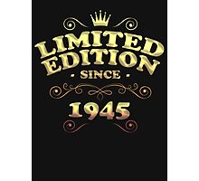 Limited edition since 1945 Photographic Print
