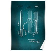 Police Baton Patent 1926 Poster