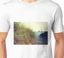 Lake Michigan dune grass Unisex T-Shirt