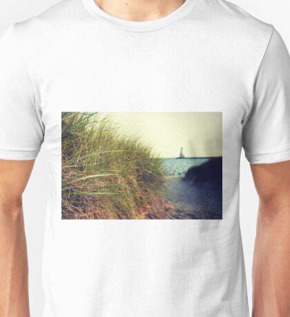 Lake Michigan dune grass Unisex T-Shirt
