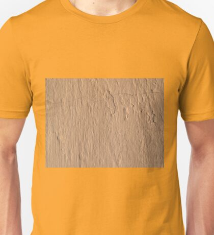 Sandstone, textured, plaster wall background Unisex T-Shirt