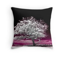 Purplelaceous Throw Pillow