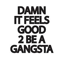 Gangsta Photographic Print