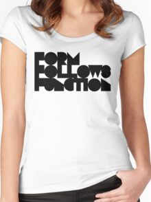 F F F Women's Fitted Scoop T-Shirt
