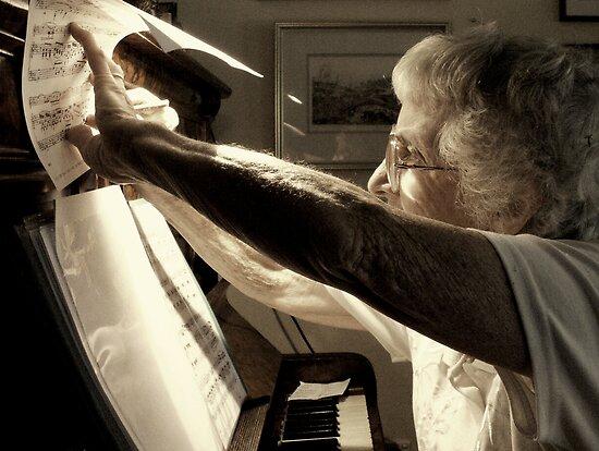 The Musician by Robert Knapman