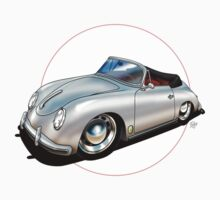 Porsche 356 Cabriolet by snuggles