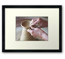 Pottery for Survival Framed Print