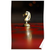 Winning Piece on Chess Poster
