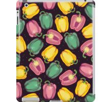 epic bell peppers in space iPad Case/Skin