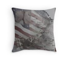 soldiers angels donate Throw Pillow