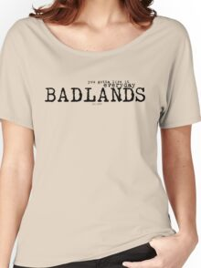 Badlands Women's Relaxed Fit T-Shirt