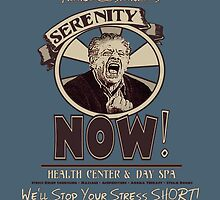 Frank Costanza's Serenity NOW Health Center & Day Spa by torg