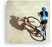Single Focus Tour de France bicycle oil painting Canvas Print