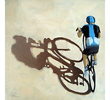 Single Focus Tour de France bicycle oil painting Photographic Print