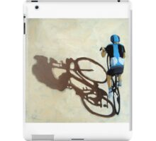 Single Focus Tour de France bicycle oil painting iPad Case/Skin