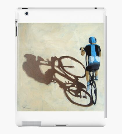 Single Focus Tour de France bicycle oil painting iPad Case/Skin