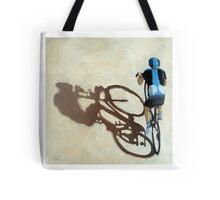 Single Focus Tour de France bicycle oil painting Tote Bag