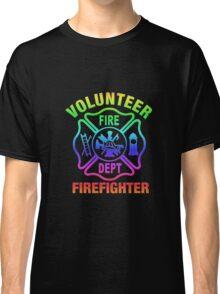Volunteer Fire Dept - Rainbow Classic T-Shirt