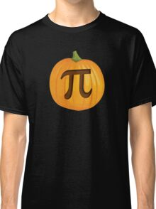 Halloween Pumpkin Pie Pi Classic T-Shirt
