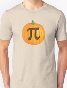 Halloween Pumpkin Pie Pi Unisex T-Shirt