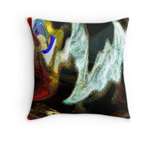 Lamentation Throw Pillow