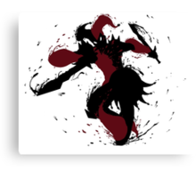 Shaco Ink Black Canvas Print