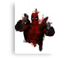 Deadpool - Trash Canvas Print