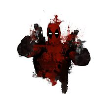 Deadpool - Trash Photographic Print