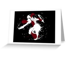 Shaco Ink White Greeting Card