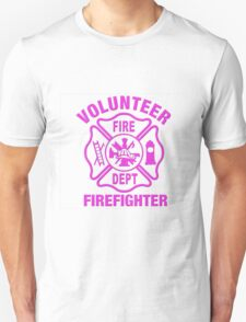 Volunteer Fire Dept - PINK Unisex T-Shirt