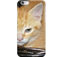 Grumpy Kitten A iPhone Case/Skin