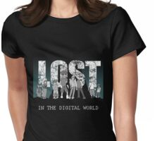 Destined to be Lost Womens Fitted T-Shirt