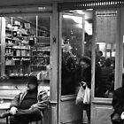 Bar Tabac, Rue Mouffetard, Paris, December 2004 by Andrew Jones