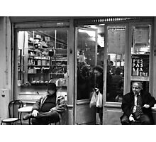 Bar Tabac, Rue Mouffetard, Paris, December 2004 Photographic Print