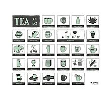 An Alphabet of Tea Photographic Print