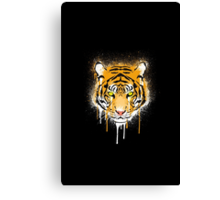 Graffiti Tiger Canvas Print