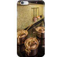 kitchen copper utensils iPhone Case/Skin