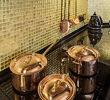 kitchen copper utensils by mrivserg